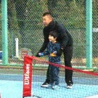 スナッグゴルフキャラバン隊プロジェクト 立川ろう学校テニス教室